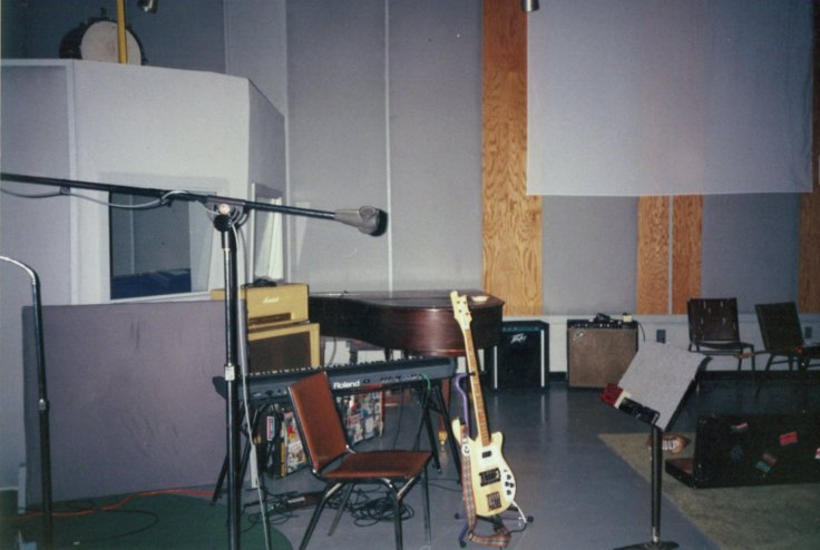 Original Easley studio, before the 2005 fire